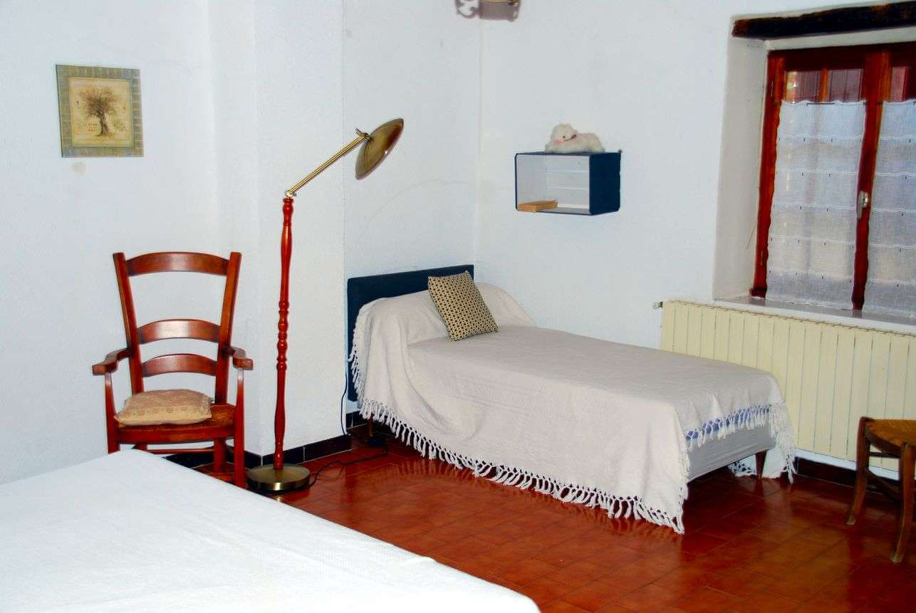 The bedroom at the first floor